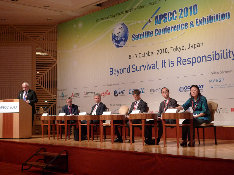 Deputy Director General Stefan Kollar speaks at APSCC conference
